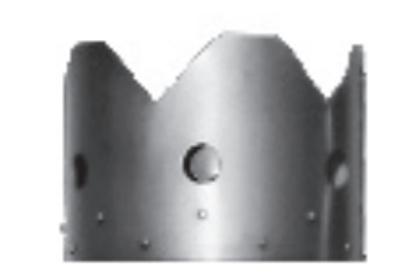 Picture of Steel Serrated Riveted Crown