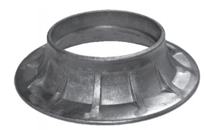 """Picture of 8"""" Flange to 6"""" Tube Reducer Fitting"""