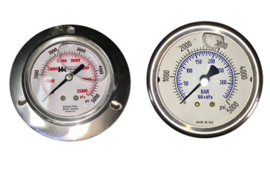 Picture of Front Panel Mount Gauge