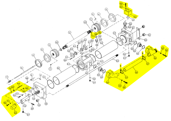 Picture of ASPC Rodder Pump - Complete Assembly