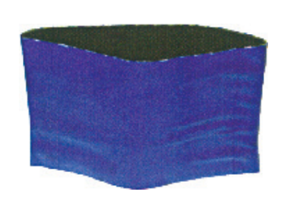Picture of Blue Nylon Discharge Hose