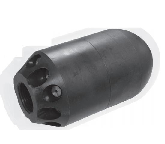 "Picture of 1"" Hustler Grenade Nozzle"