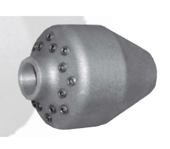 Picture of Aluminum Sand and Sludge Nozzle